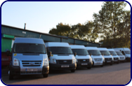 Minibuses Coventry Rugby Bedworth Solihull Kenilworth L-Spa